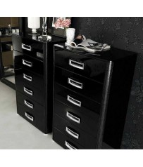 La Star  Bedroom set, black